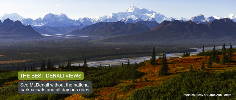 The Best Denali Views